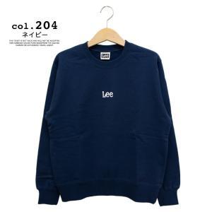 【 Lee リー 】ミニロゴ刺繍 クルーネックスウェット LT2402|jeansstation|15