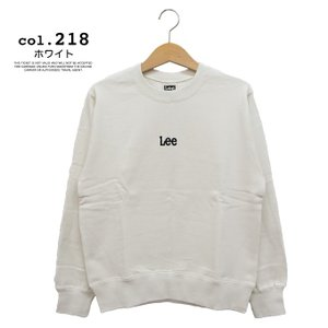 【 Lee リー 】ミニロゴ刺繍 クルーネックスウェット LT2402|jeansstation|16