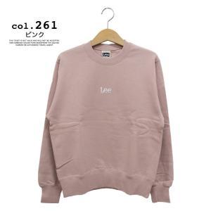【 Lee リー 】ミニロゴ刺繍 クルーネックスウェット LT2402|jeansstation|18