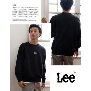 【 Lee リー 】ミニロゴ刺繍 クルーネックスウェット LT2402|jeansstation|04