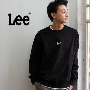【 Lee リー 】ミニロゴ刺繍 クルーネックスウェット LT2402|jeansstation|06