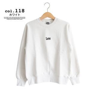 【 Lee リー 】ミニロゴ刺繍 クルーネックスウェット LT2402|jeansstation|10