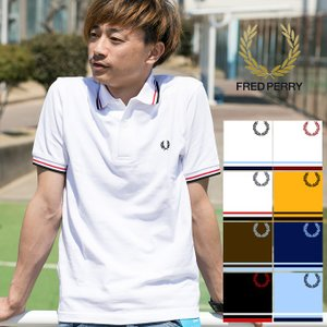 【 FRED PERRY フレッドペリー 】TWIN TIPPED FRED PERRY SHIRT M12N|jeansstation