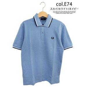 【 FRED PERRY フレッドペリー 】TWIN TIPPED FRED PERRY SHIRT M12N|jeansstation|13