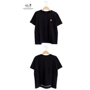 【THE NORTH FACE ザノースフェイス】S/S Small Box Logo Tee スモールボックスロゴ 半袖Tシャツ NT31955|jeansstation|07