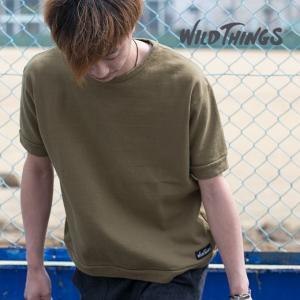 【WILDTHINGS ワイルドシングス】S/S スウェット シャツ WT17030S|jeansstation|05