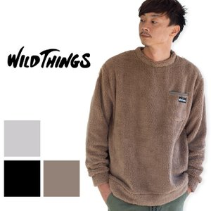 【WILDTHINGS ワイルドシングス】PILE FLEECE PULLOVER パイルフリース プルオーバー WT18120Y|jeansstation