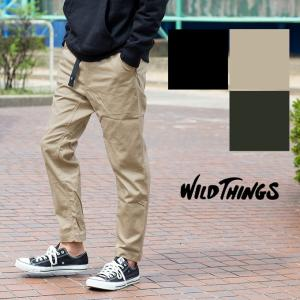 【WILDTHINGS ワイルドシングス】THINGS PANTS サテンストレッチクライミングパンツ WT18123AD|jeansstation