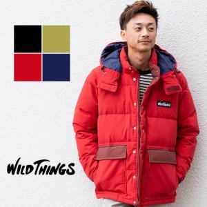 【 WILDTHINGS ワイルドシングス 】DOWN PARKA ダウンパーカー ジャケット WT18201N|jeansstation