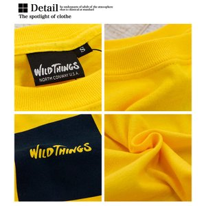 【SALE!!】【WILDTHINGS ワイルドシングス】SQUARE WILD THINGS スクエアロゴS/S Tシャツ WT19031H|jeansstation|11