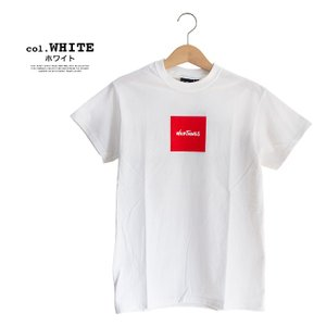 【SALE!!】【WILDTHINGS ワイルドシングス】SQUARE WILD THINGS スクエアロゴS/S Tシャツ WT19031H|jeansstation|09