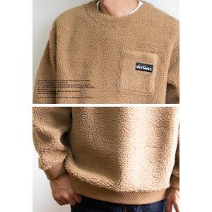 【 WILDTHINGS ワイルドシングス 】 FLUFFY BOA L/S CREW フラッフィー ボア クルーネックスウェット WT19121N|jeansstation|05