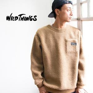 【 WILDTHINGS ワイルドシングス 】 FLUFFY BOA L/S CREW フラッフィー ボア クルーネックスウェット WT19121N|jeansstation|06