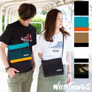 【WILDTHINGS ワイルドシングス】 サコッシュ ショルダーバッグ WT3800072|jeansstation