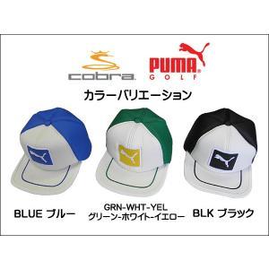 ゴルフ プーマ コブラ ヘッドカバー キャット パッチ ハット 911851|jecars