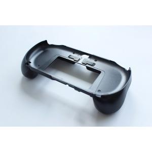 PSVita-2000型用 L2/R2ボタン搭載グリップカバー(ブラック)|jecom-online|03