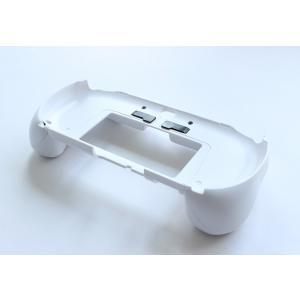 PSVita-2000型用 L2/R2ボタン搭載グリップカバー(ホワイト)|jecom-online|03