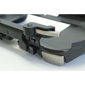 PSVita-2000型用 前面背面タッチパッド対応型L2/R2ボタン搭載グリップカバー|jecom-online|04