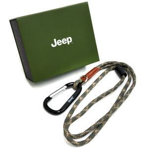 Jeep_ カラビナ付ネックストラップ