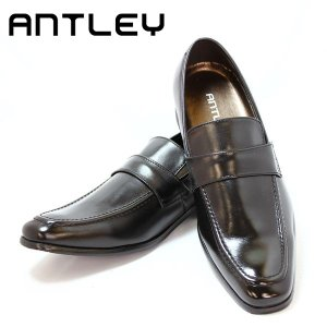 ANTLEY アントレー  メンズ ビジネスシューズ 1098  BLK  革靴