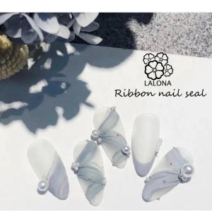 ネイルシール ( リボン&フラワー ) 韓国スタイルシリーズ
