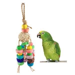 インコ 鳥 おもちゃ 吊り下げ 噛むおもちゃ|jellykeystyle