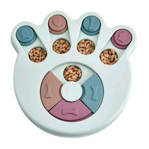ペット食器 ペット早食い防止 ノーズワークパズル 犬、猫 フードボウル スローフード 飲み込み防止 滑り止め 食器 ペット食器 早食い防止 犬 猫 jellykeystyle