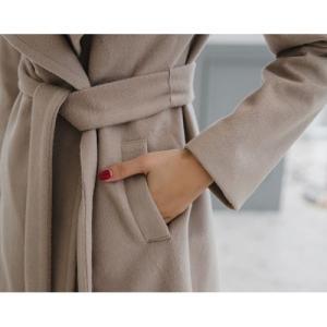 コート レディース ロングコート ガウンコート 40代 ファッション 2017 秋 冬 新作 きれいめ 高級感 OL 通勤|jennie-alice|03