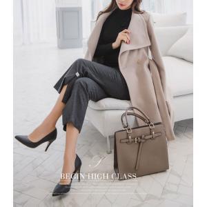 コート レディース ロングコート ガウンコート 40代 50代 ファッション 秋 冬 きれいめ 高級感 OL 通勤 jennie-alice 06