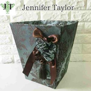 ジェニファーテイラー ダストボックス ごみ箱 布 布張り 高級 おしゃれ かわいい エステ ネイル Carlisle  Jennifer Taylor 32016DB jennifertaylor