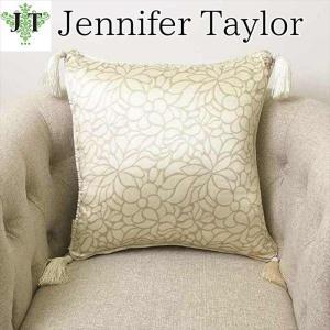 ジェニファーテイラー クッション タッセル 中材付き高級 おしゃれ かわいい エステ ネイル Lumina  Jennifer Taylor 32035CU|jennifertaylor
