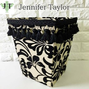 ジェニファーテイラー ダストボックス ごみ箱 布 布張り 高級 おしゃれ かわいい エステ ネイル Yorke  Jennifer Taylor 32042DB|jennifertaylor
