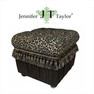 ジェニファーテイラー 収納 スツール 椅子 イス 玄関 廊下 布 布張り 高級 おしゃれ かわいい Espresso Jennifer Taylor 32056ST|jennifertaylor