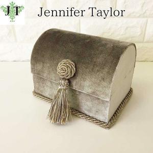 ジェニファーテイラー トランク BOX ボックス 小物入れ 収納 高級 おしゃれ かわいい エステ ネイル Legacy  Jennifer Taylor 32103BX|jennifertaylor