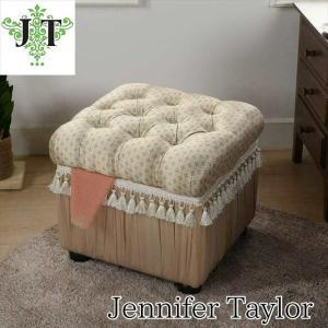 ジェニファーテイラー 収納 スツール 椅子 イス 玄関 廊下 布 布張り 高級 おしゃれ かわいい Lumina Jennifer Taylor 32146ST|jennifertaylor