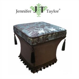 ジェニファーテイラー スツール 椅子 イス 布 布張り 高級 おしゃれ かわいい Carlisle Jennifer Taylor 32208ST|jennifertaylor