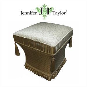 ジェニファーテイラー スツール 椅子 イス 布 布張り 高級 おしゃれ かわいい Lumina Jennifer Taylor 32209ST|jennifertaylor