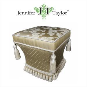 ジェニファーテイラー スツール 椅子 イス 布 布張り 高級 おしゃれ かわいい Heirloom Jennifer Taylor 32212ST|jennifertaylor