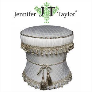 ジェニファーテイラー スツール 椅子 イス 布 布張り 高級 おしゃれ かわいい Swanson  Jennifer Taylor 32244ST|jennifertaylor