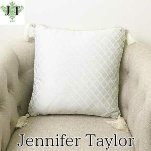 ジェニファーテイラー クッション タッセル 中材付き 高級 おしゃれ かわいい Swanson  Jennifer Taylor 32252CU|jennifertaylor