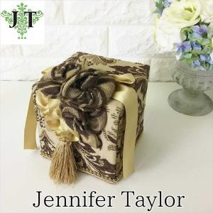 ジェニファーテイラー トイレットペーパー ティッシュボックス カバー ケース 収納 布 布張り 高級 おしゃれ Broderick  Jennifer Taylor 32265TB|jennifertaylor