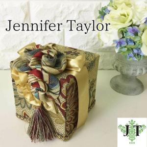ジェニファーテイラー トイレットペーパー ティッシュボックス カバー ケース 収納 布 布張り 高級 おしゃれ Dempsey  Jennifer Taylor 32287TB|jennifertaylor