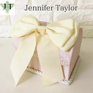 ジェニファーテイラー トランク BOX リボン ボックス 小物入れ 収納 高級 おしゃれ かわいい エステ ネイル プリンセス 姫 Haruno Jennifer Taylor 32470BX|jennifertaylor