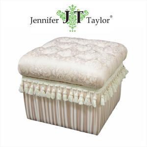 ジェニファーテイラー 収納 スツール 椅子 イス 布 布張り 高級 おしゃれ かわいい ピンク プリンセス 姫 Haruno Jennifer Taylor 32734ST|jennifertaylor