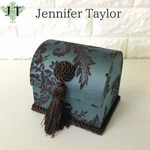 ジェニファーテイラー トランク BOX 小 ボックス 小物入れ 収納 高級 おしゃれ かわいい エステ ネイル Carlisle  Jennifer Taylor 32749BX|jennifertaylor