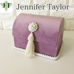 ジェニファーテイラー トランク BOX ボックス 小物入れ 収納 高級 おしゃれ かわいい エステ ネイル Bois De Rose  Jennifer Taylor 32840BX|jennifertaylor
