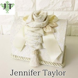 ジェニファーテイラー トランク BOX ボックス 小物入れ 収納 高級 おしゃれ かわいい エステ ネイル raffine-WH Jennifer Taylor 32949BX|jennifertaylor
