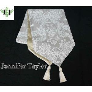 ジェニファーテイラー テーブルランナー 180 テーブル サイドボード 玄関 おしゃれ かわいい エステ ネイル raffine-GR Jennifer Taylor 32955TR|jennifertaylor
