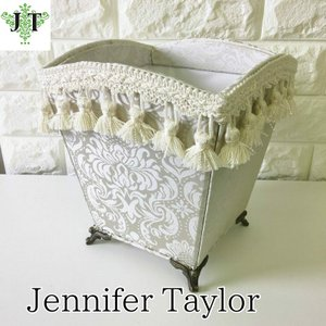 ジェニファーテイラー 脚付ダスト椅子 イス 布 布張り 高級 おしゃれ かわいい ピンク プリンセス 姫 BOX Haruno-GR Jennifer Taylor 32962DB|jennifertaylor