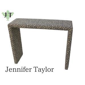 ジェニファーテイラー コンソールデスク 玄関 布 布張り 高級 おしゃれ エステ ネイル かわいい Espresso  Jennifer Taylor 33003CD|jennifertaylor